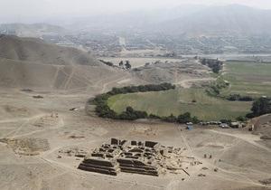 Перу - піраміда - будівельники