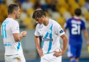 Зенит покинул Киев с мыслями о Шахтере