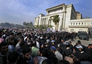 Заворушення в Єгипті - Мурсі - США евакуюють дипломатів з Єгипту