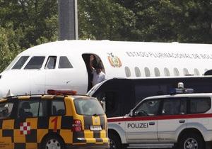 Літак Моралеса вилетів з Канарських островів у Болівію