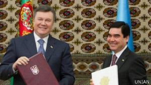 Австрійська газета переплутала Януковича із Бердимухамедовим