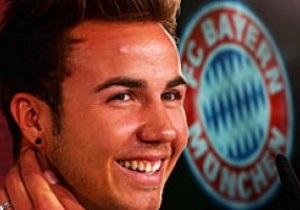 Бавария официально представила Марио Гетце