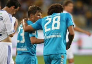 Аршавин: В матче Динамо и Зенита на поле ничего особенного не происходило