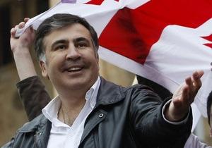 Грузія - президентські вибори - Саакашвілі