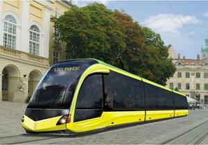 Львів - трамвай із низькою підлогою