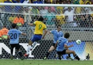 Бразилия вырывает победу у Уругвая в полуфинале Кубка Конфедераций