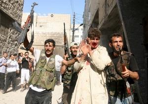 Сирія - громадянська війна - жертви