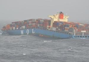 Індійський океан - аварія - судно