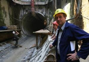 Янукович одобрил привлечение кредита ЕБРР на завершение строительства метро в Днепропетровске
