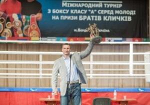 Украинские боксеры разобрали призы братьев Кличко
