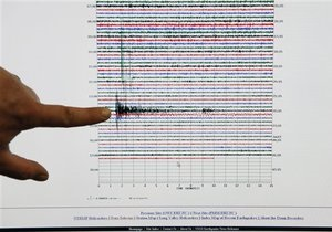 Землетрус у Кривому Розі - Кривий Ріг - Землетрус у Кривому Розі не призвів до руйнувань