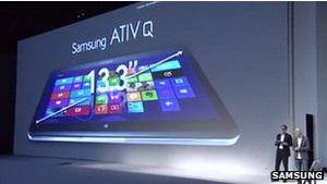 Samsung представила планшет на двох ОС