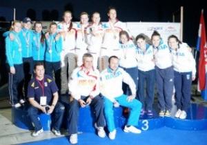 Украинские саблистки завоевали серебро на чемпионате Европы