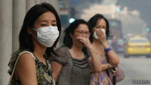 Забруднення повітря у Сінгапурі досягло небезпечного для здоров я людей рівня