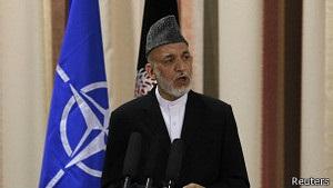 Карзай погрожує бойкотувати переговори з Талібаном