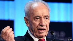 Президент Ізраїлю Шимон Перес почав святкувати прийдешній 90-й день народження