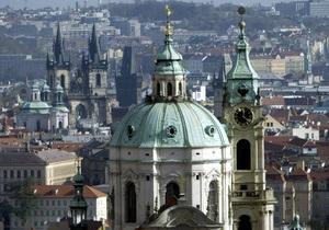 Прага - вибух