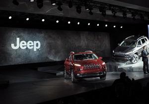 Chrysler отзывает 2,7 миллиона внедорожников Jeep