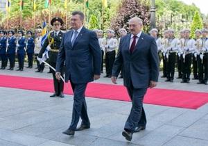 Лукашенко - Янукович - Білорусь - Без пилу і шуму: Лукашенко розповів про часті неофіційні зустрічі з Януковичем