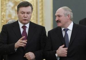 Лукашенко - Янукович - зустріч