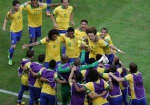 Бразилия уверенно побеждает Японию