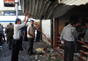 Дамаск - вибух - жертви