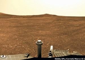 Марсохід Opportunity виявив на Червоній планеті ознаки існування води