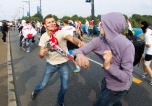 Польские болельщики жестоко избили украинца