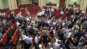 Блокування Ради: регіонали хочуть провести позачергове засідання