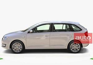 Skoda - хетчбек Rapid - Головний чеський автовиробник помилково розсекретив новий хетчбек