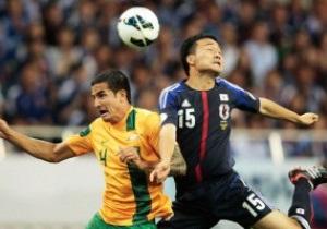 Сборная Японии первой пробилась на ЧМ-2014