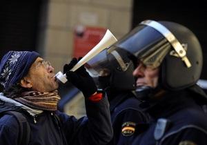 Світова економіка - боргова криза - криза ЄС - МОП: Ризик суспільних заворушень в ЄС - найвищий у світі