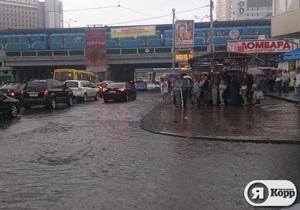 Я-Корреспондент: Київ після дощу. Фоторепортаж з Лівого берега