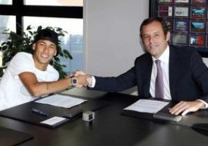 Барселона заплатила за Неймара 57 миллионов евро