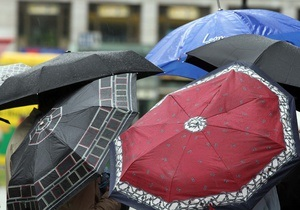 Погода в Україні - дощі - Дощова погода в Україні збережеться як мінімум до середи