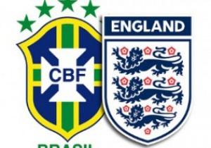Збірні Бразилії та Англії розійшлися миром