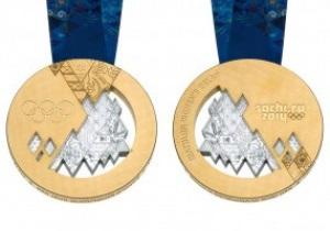Россия представила медали Олимпиады в Сочи