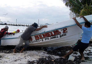 Мексика - ураган - Барбара - жертви