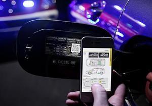 Mercedes-Benz - QR-код - ДТП - Mercedes-Benz розмістить на своїх авто QR-коди, які допомагають рятувальникам при ДТП