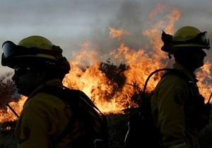 США - Санта-Барбара - пожежа