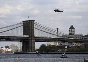 Новини США - Бруклінський міст - У Нью-Йорку через підозрілий автомобіль перекрили Бруклінський міст. На місці працюють сапери