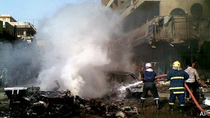 Через вибухи в Багдаді загинули щонайменше 57 людей