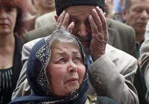 Кримські татари - депортація - Росія - скандал