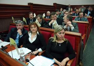 Київрада - Фракція партії Литвина у Київраді позбулася половини депутатів