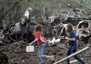Кількість жертв торнадо в Оклахомі зростає