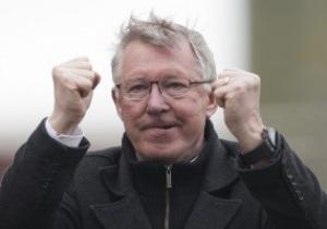 Фергюсон побил рекорд по количеству званий лучшего тренера Англии