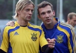 Андрей Шевченко: В финале Лиги чемпионов буду поддерживать Тимощука