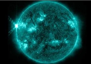 На Сонці стався велетенський спалах