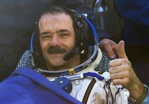 Екіпаж МКС - приземлення