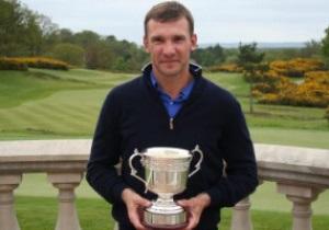 Андрей Шевченко выиграл в Англии турнир по гольфу